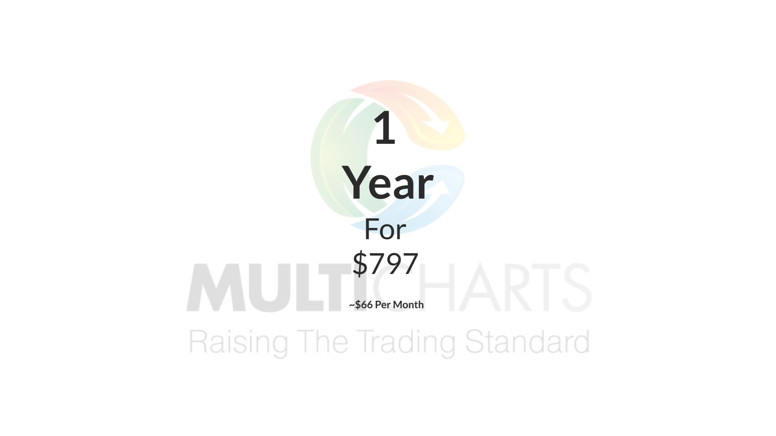 MultiCharts - 1 Year License