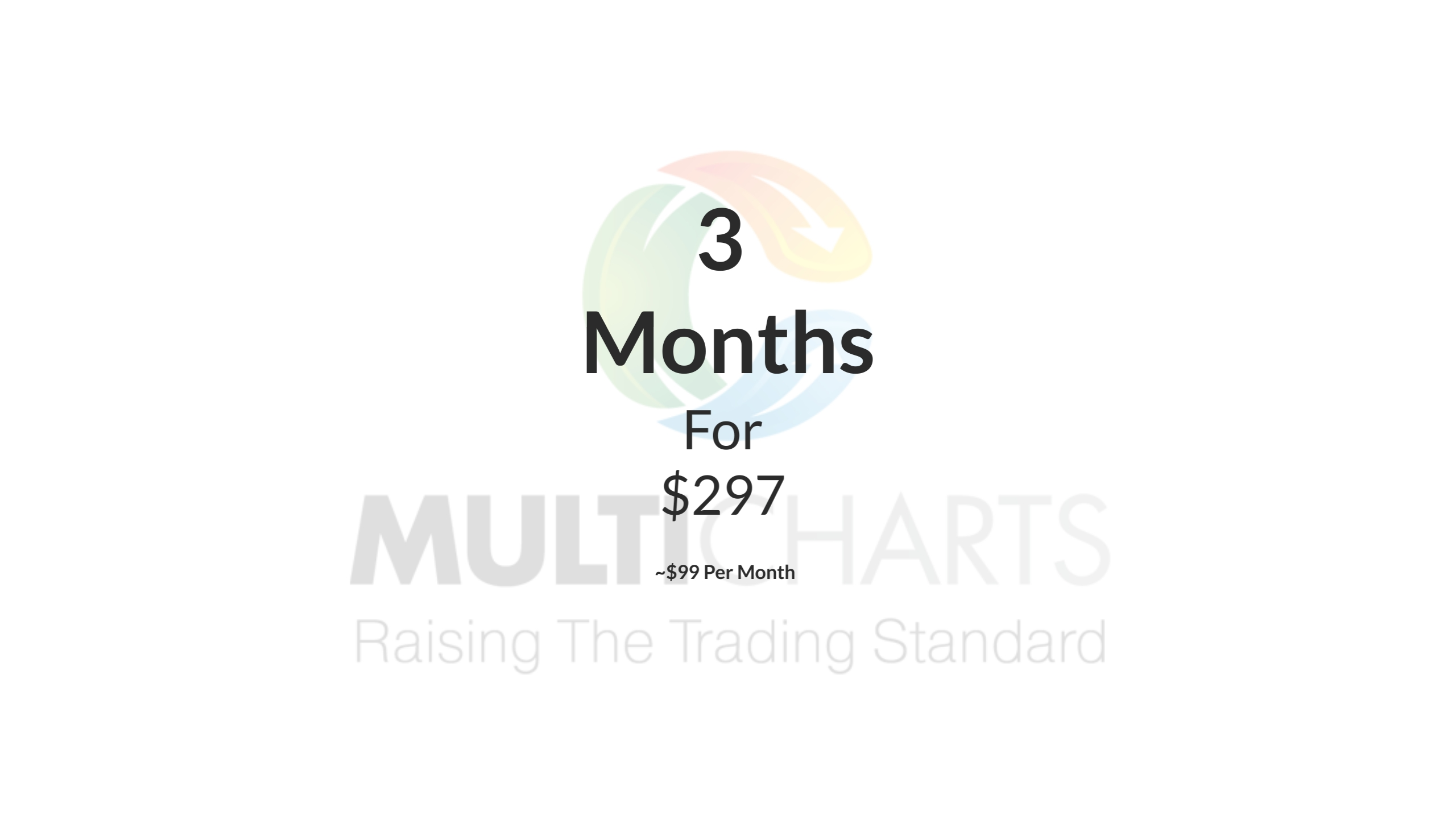 MultiCharts Quarterly Subscription