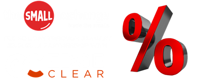 Small Exchange Edge Clear 10-year yield