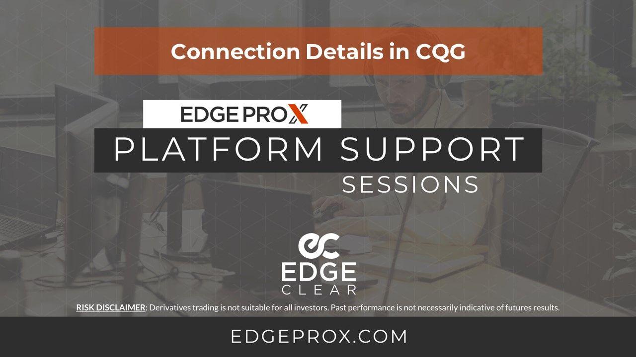 EdgeProX for CQG