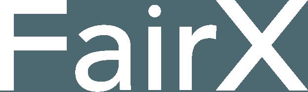 FairX White Logo